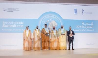 Mohammed bin Rashid Al Maktoum Foundation Knowledge Award Winners (PRNewsFoto/MBRF)