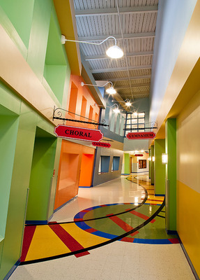 Armstrong Commercial Flooring i2r Reality Winner: Eckles Architecture & Engineering, Inc., New Castle, PA, for the McIntyre Elementary School