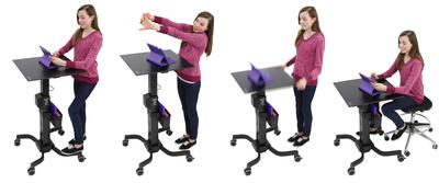 Ergotron LearnFit(TM) Adjustable Standing Desk
