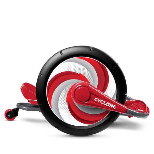 "Cyclone(TM) features 16"" wheels for a smooth ride.  (PRNewsFoto/Radio Flyer)"