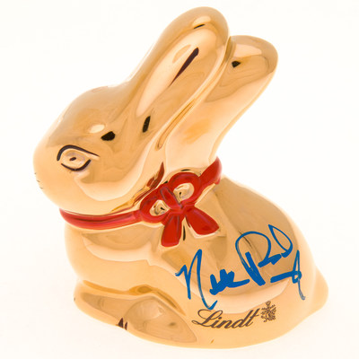 Nikki Reed joins more than 60 celebrity participants in the sixth Lindt GOLD BUNNY Celebrity Auction, with 100 percent of proceeds benefitting Autism Speaks.