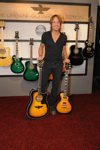Keith Urban Announces The World Premiere Of The URBAN Guitar Collection Debuting Live On HSN November 3rd.  ...
