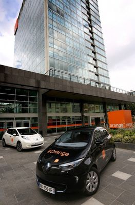 Renault-Nissan Alliance and Orange expand electric vehicle partnership- Photo credit: Stephane Foulon.