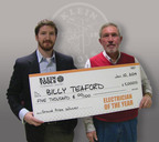 Klein® Tools Names Billy Teaford Its 2013 Electrician of the Year