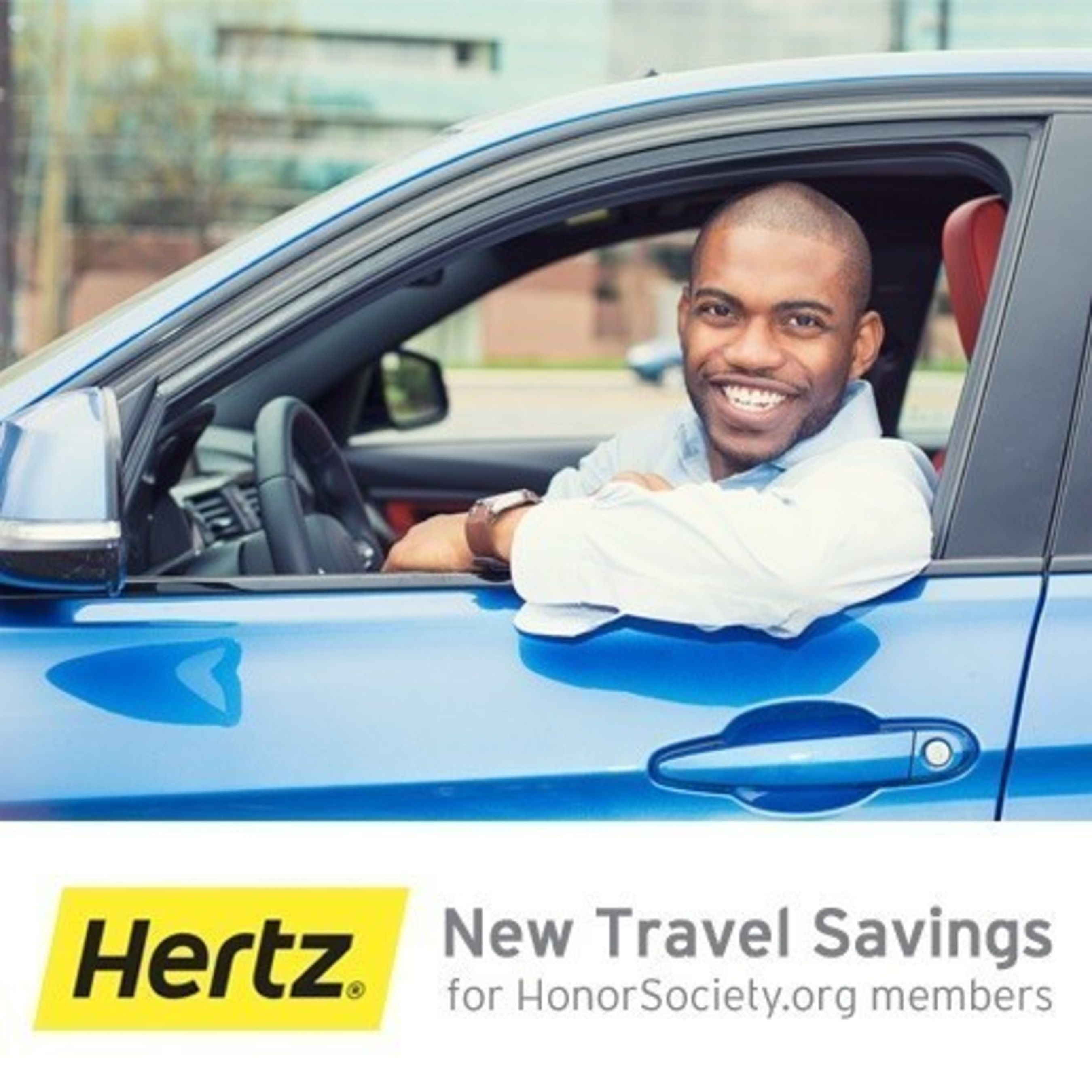 HonorSociety.org Launches Exclusive Hertz Car Rental Benefits to Members