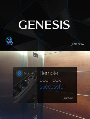 Hyundai Explores Wearable Technology With All-New Genesis.  (PRNewsFoto/Hyundai Motor America)