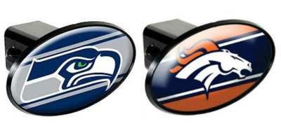 Get propane and win! U-Haul will be giving away Seattle Seahawks and Denver Broncos hitch covers. Just tell us your favorite game-day moment.  (PRNewsFoto/U-Haul)