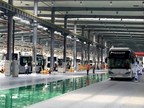 Foshan Feichi fuel cell bus assembly operation