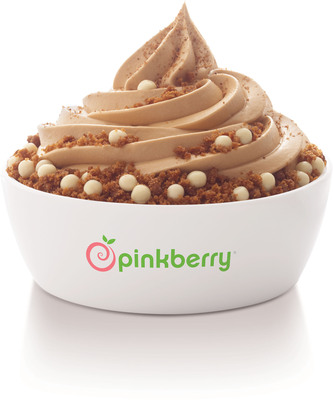 Gingerbread Pinkberry.  (PRNewsFoto/Pinkberry)