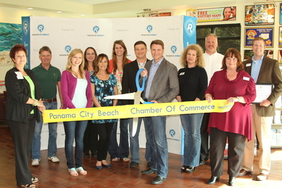 Panama City Beach Ribbon Cutting  (PRNewsFoto/Reserve Direct)