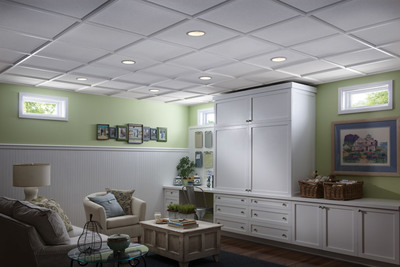 Armstrong's StyleStix(TM) Ceiling Grid Covers Earn Handyman Seal of Approval.