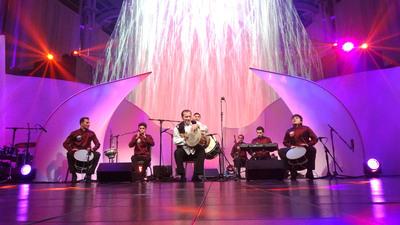 The Natig Rhythm Group performs at the Azerbaijan America Alliance gala dinner in Washington, D.C. on November 14, 2012.  (PRNewsFoto/Azerbaijan America Alliance)