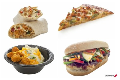 Aramark starts the school year with great tasting new items.