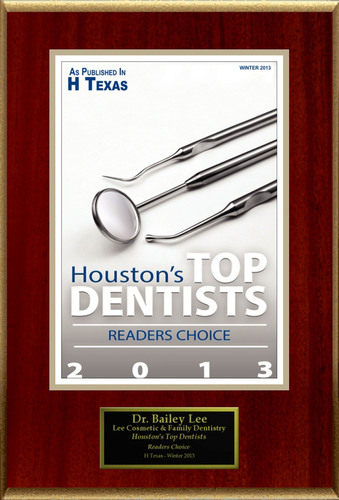 "Bailey Lee Selected For ""Houston's Top Dentists"".  (PRNewsFoto/American Registry)"