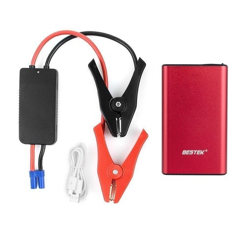 BESTEK Multi-Functional 400A Peak Current Car Jump Starter Power Bank with 8000mAh Portable External Battery ...