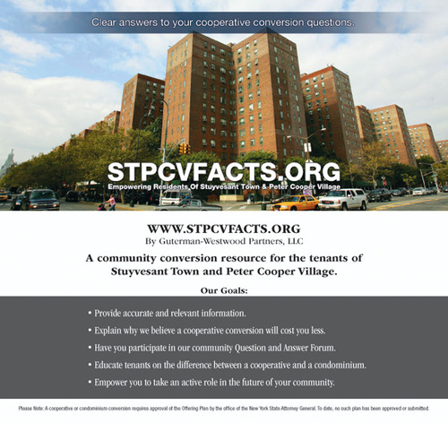 Guterman Westwood Partners LLC Launches Educational Website for Tenants of Stuyvesant Town & Peter