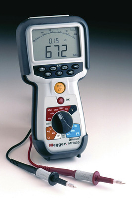 New Series of Insulation Testers from Megger Safety Rated to CAT IV 600 V.  (PRNewsFoto/Megger)