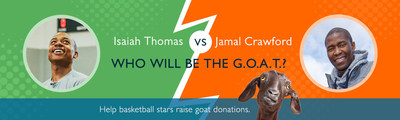 NBA Players challenge each other to raise donations...of goats
