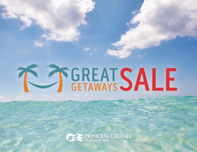 Princess Cruises Announces the Great Getaways Sale