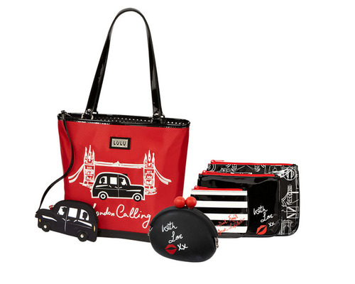 LULU by Lulu Guinness is available exclusively at jcpenney this holiday season.  (PRNewsFoto/jcp)