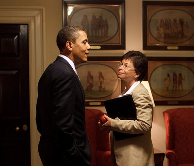 Valerie Jarrett, Senior Advisor to President Obama, will deliver the 2013 Commencement address at Wellesley College. (Official White House Photo by Pete Souza).  (PRNewsFoto/Wellesley College, Pete Souza)