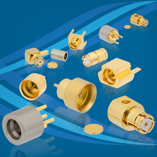 Pasternack Low Frequency SMP Connectors Up to 9 GHz.  (PRNewsFoto/Pasternack Enterprises, Inc.)
