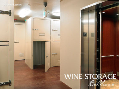 Wine Storage Bellevue has just added 45 more wine lockers to accommodate the Eastside wine collectors' need to cellar wine and store wine.  (PRNewsFoto/Wine Storage Bellevue)
