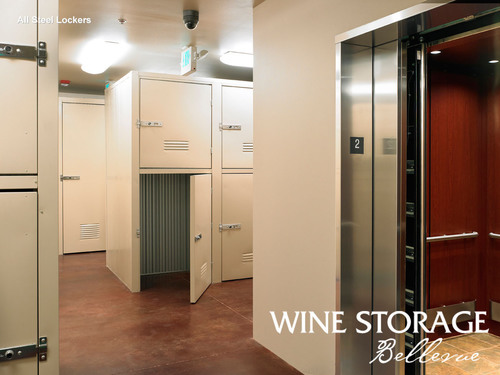 Wine Storage Bellevue has just added 45 more wine lockers to accommodate the Eastside wine collectors' need to cellar wine and store wine.  (PRNewsFoto/Wine Storage Bellevue)