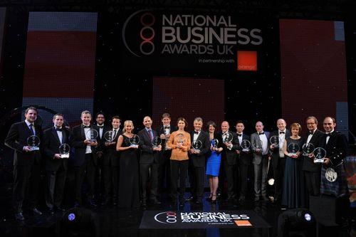 2012 National Business Awards winners (PRNewsFoto/The National Business Awards)