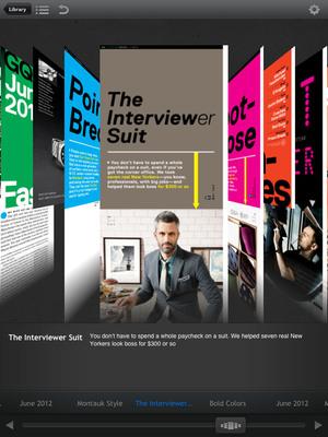Next Issue 3D carousel.  (PRNewsFoto/Next Issue Media)