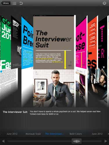 Next Issue for iPad Now Available from the App Store, Bringing Magazines to Life