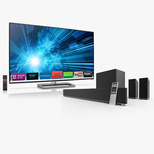 VIZIO Continues to Lead as the #1 Selling LCD HDTV Brand and #1 in Sound Bar Sales for Q1.  (PRNewsFoto/VIZIO, Inc.)