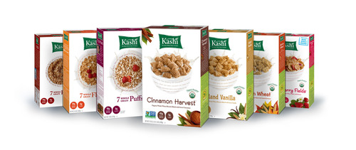 Kashi's long-term commitment follows the Non-GMO Project Verification of seven Kashi foods earlier this year.  (PRNewsFoto/Kashi Company)