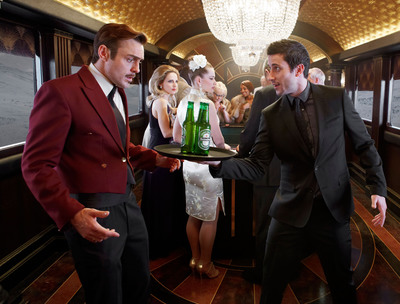 Heineken(R) lanzo campana digital y de TV anticipando 23ra aventura de James Bond.  (PRNewsFoto/Heineken)