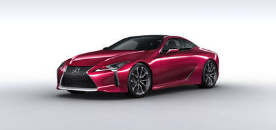 Lexus LC500 Features MICHELIN(R) Pilot(R) Super Sport Tires