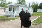 Lora and Michael Gallion were awarded a $4,000 Homebuyer Equity Leverage Partnership (HELP) grant from Planters Bank & Trust Company and the Federal Home Loan Bank of Dallas. The grant helped them purchase one of the Baptist Town Cottages in Greenwood, Mississippi. For more information about HELP grants, contact Planters Bank & Trust Company.