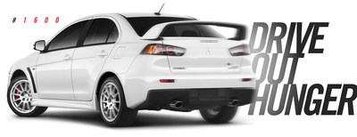 Mitsubishi Motors Committed To Drive Out Hunger By Auctioning Last Lancer Evolution Ever Produced
