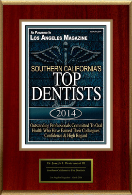 Dr. Joseph L. Dautremont, DDS Selected For ''Southern California's Top Dentists''