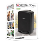 The Samson Expedition Escape Rechargeable Bluetooth(R) Speaker Brings Serious Volume and Impressive Audio Clarity to Any Environment. (PRNewsFoto/Samson Technologies)