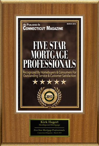 Kirk Hagert Selected For 'Five Star Mortgage Professionals'