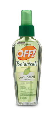 OFF! Botanicals(R) Insect Repellent I (4 oz. Spritz) (PRNewsFoto/SC Johnson)