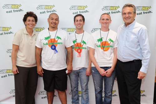 Arizona Sandwich Artist(TM) Crowned Fastest SUBWAY(R) Sandwich Maker in the World!  (PRNewsFoto/SUBWAY Restaurants)