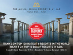 The Mulia - Nusa Dua, Bali ranks #3 on Conde Nast Traveler's Best Hotels In the World