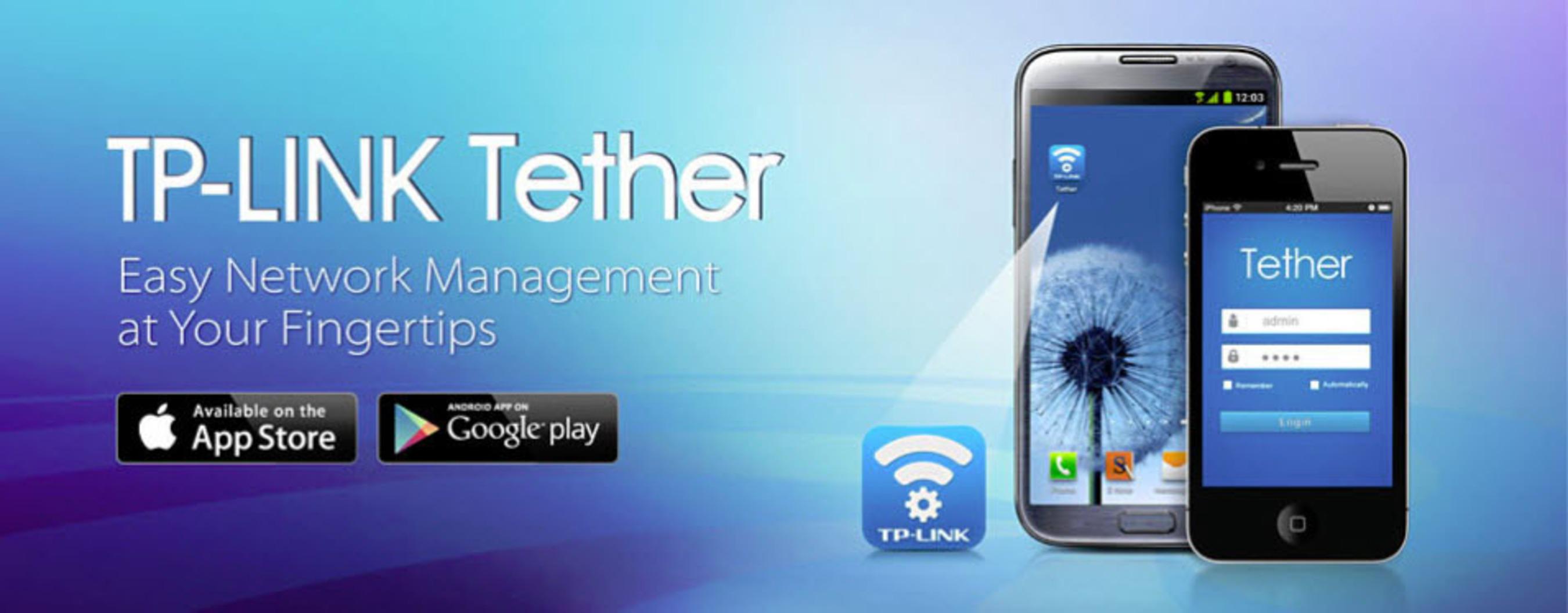 TP-LINK tether.  (PRNewsFoto/TP-LINK)