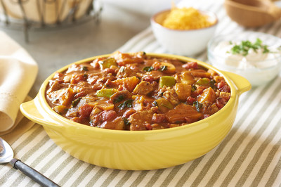 Photo courtesy of McCormick Spice Chicken Chili with Apple and Sweet Potato