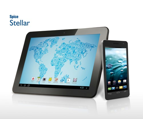Spice Expands Stellar Range With India's Slimmest Smartphone and Fully-HD Tablet