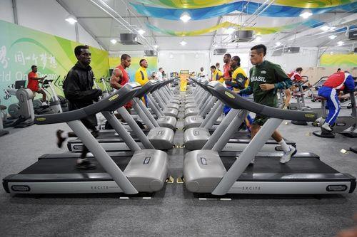 Olympic Village equipped by Technogym (PRNewsFoto/Technogym)