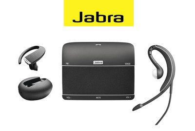 The Jabra suite of products includes Bluetooth (wireless) headsets, corded devices and in-car speakersphones. www.BuyJabra.com.  (PRNewsFoto/GN Netcom)