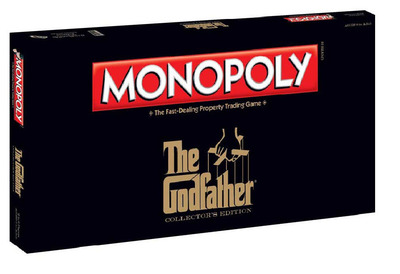 MONOPOLY: THE GODFATHER EDITION.  (PRNewsFoto/Paramount Pictures Corporation)