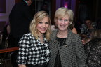 Kristen Bell and Dr. Leslie Mancuso, President and CEO of Jhpiego